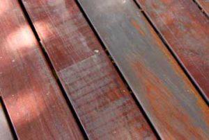 Timber Sun Damage