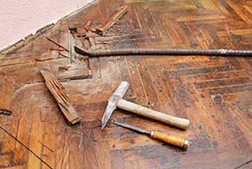 Solid Wood Floor Repairs